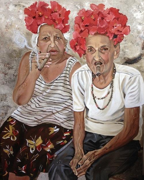 Art Bank - Life is Worth Living - Acrylic on Canvas